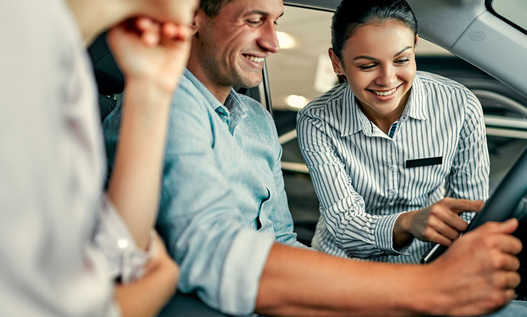 Do car buyers want to work with one person?